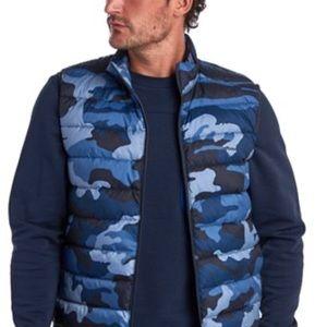 SALE! NWT Barbour Men's Camouflage Vest L
